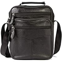 Rozipper Cowhide Cross Bag Simple Design Daily Classic Design