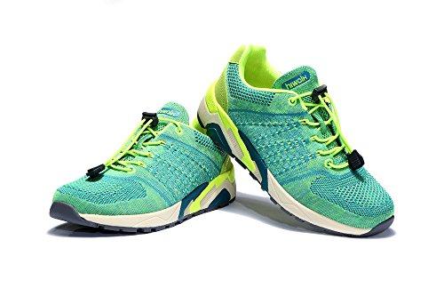 [해외](하이 워크) Hiwalk 가볍고 통기성 야외 러닝 운동화 트레일 러닝 슈즈 남녀 겸용/(High walk) Hiwalk Light weight aeration Outdoor running sports shoes Trail running shoes Unisex dual use