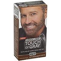 Just for Men グレー髪の色、口ひげ&ビアードキット、ライト&ミディアムブラウンB-35分の25、1 Eaは(12パック)の感触 12のパック