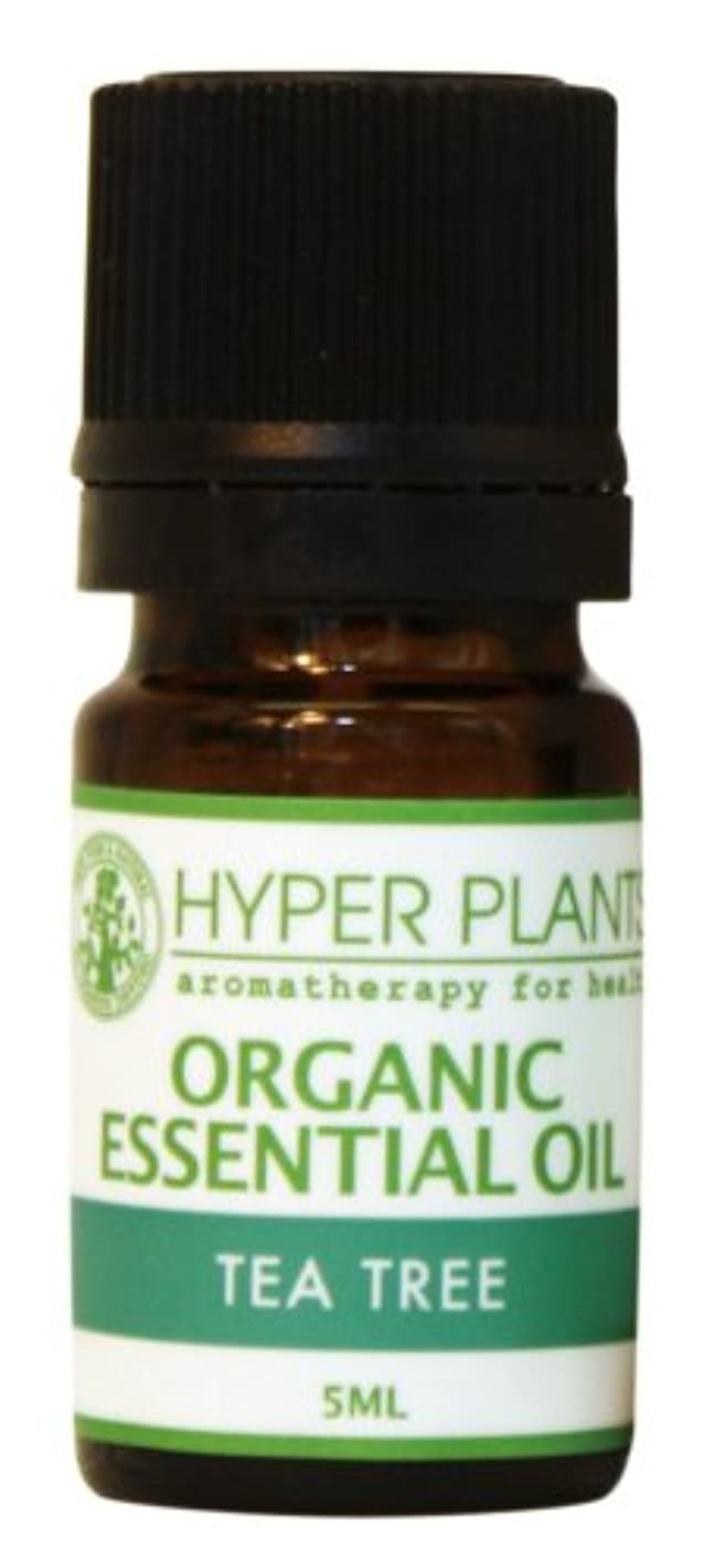 連鎖胚子HYPER PLANTS ハイパープランツ オーガニックエッセンシャルオイル ティートリー 5ml HE0009