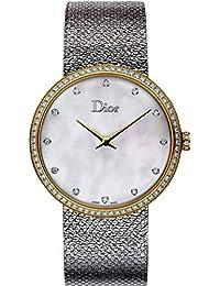 La D De Dior Satine 36mm クォーツレディースウォッチ
