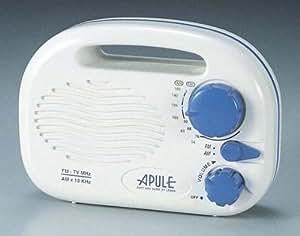 アプレ 防滴ラジオ(FM/AM) AP-152