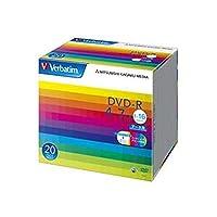 - まとめ - / バーベイタム/データ用DVD-R / 4.7GB / ワイドプリンターブル / 5mmスリムケース / DHR47JP20V1 / 1パック - 20枚 - / - ×3セット -