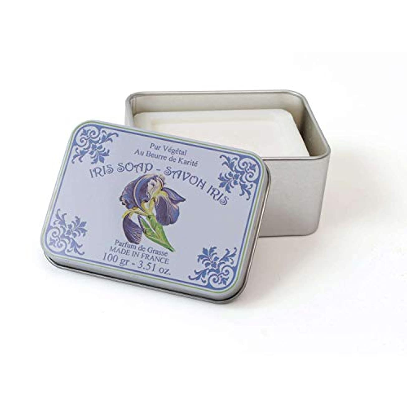 グレーアルプス雨Le Blanc ルブランソープ アイリスの香り