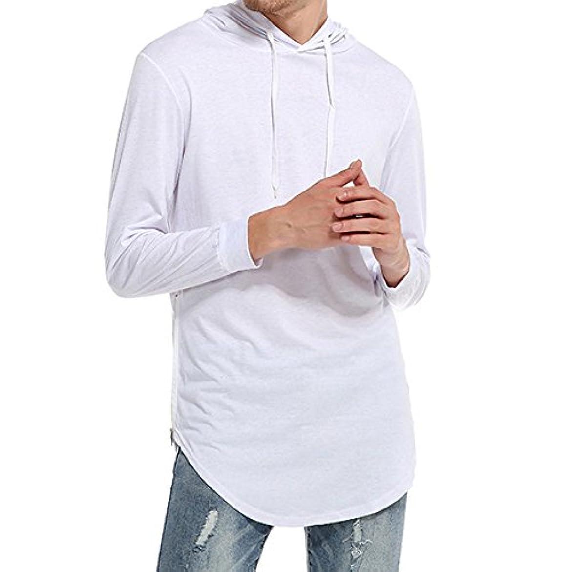 オーバー サイズ クルーネックセーター ニット 純色 クルーネック カットソー おしゃれ 無地 メンズ カットソー カジュアル シンプル デザイン 長袖