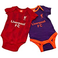 Liverpool FC Set of 2 Cute Baby Onesies - Authentic EPL