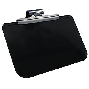 ミラリード カーサンバイザー スライドバイザースクリーン ラージ ブラック/スモーク 汎用 SZ-1502