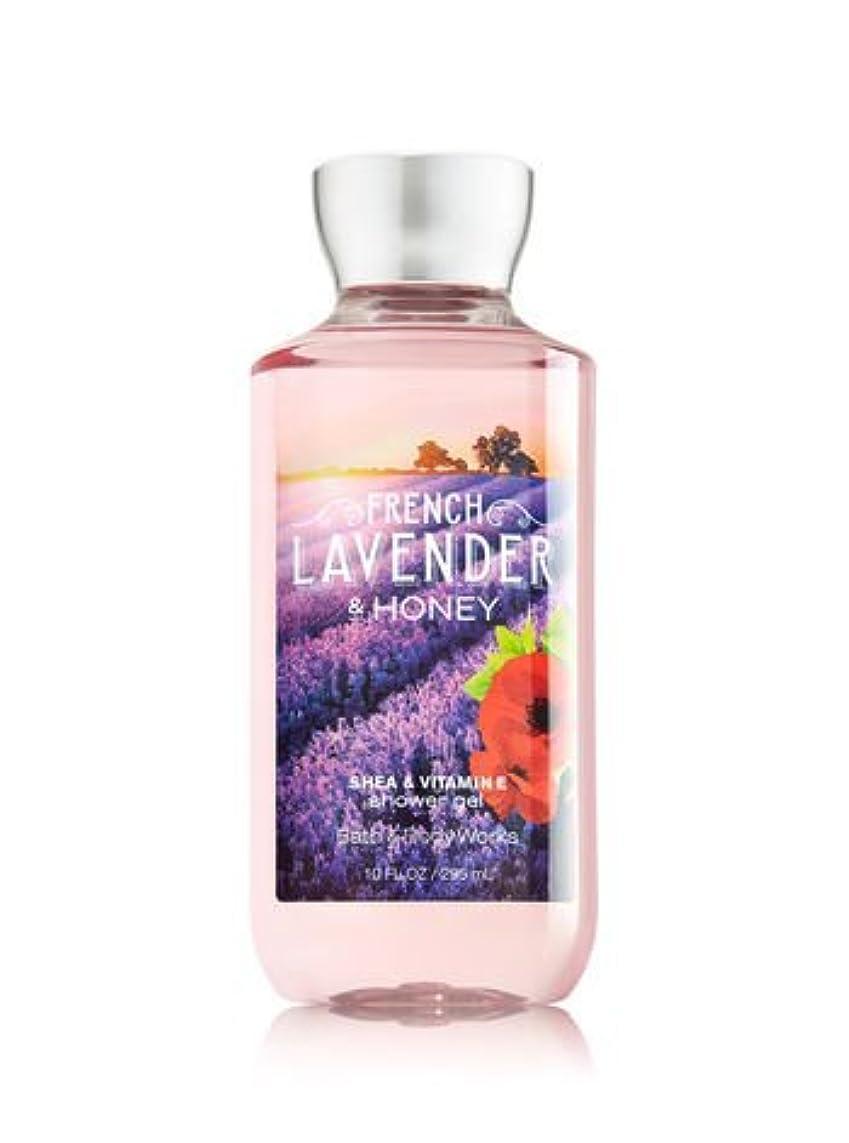 タイプライター彫刻教師の日【Bath&Body Works/バス&ボディワークス】 シャワージェル フレンチラベンダー&ハニー Shower Gel French Lavender & Honey 10 fl oz / 295 mL [並行輸入品]