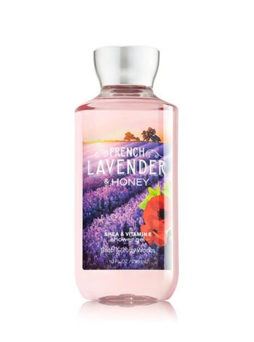 血ぼかす風味【Bath&Body Works/バス&ボディワークス】 シャワージェル フレンチラベンダー&ハニー Shower Gel French Lavender & Honey 10 fl oz / 295 mL [並行輸入品]