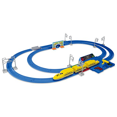 プラレール レバーでダッシュ!! 超スピード ドクターイエローセット