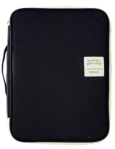 Mygreen(マイグリーン)ドキュメントバッグ タブレット 収納ケース A4 撥水加工 MG16600BK(ブラック)