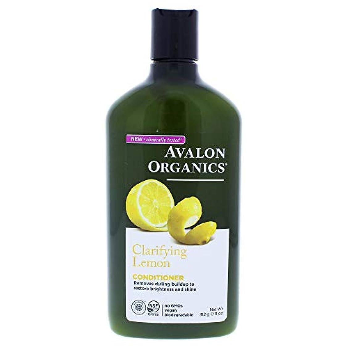 クラッシュ駅危険を冒しますOrganics Clarifying Conditioner Lemon - 11 fl oz by Avalon