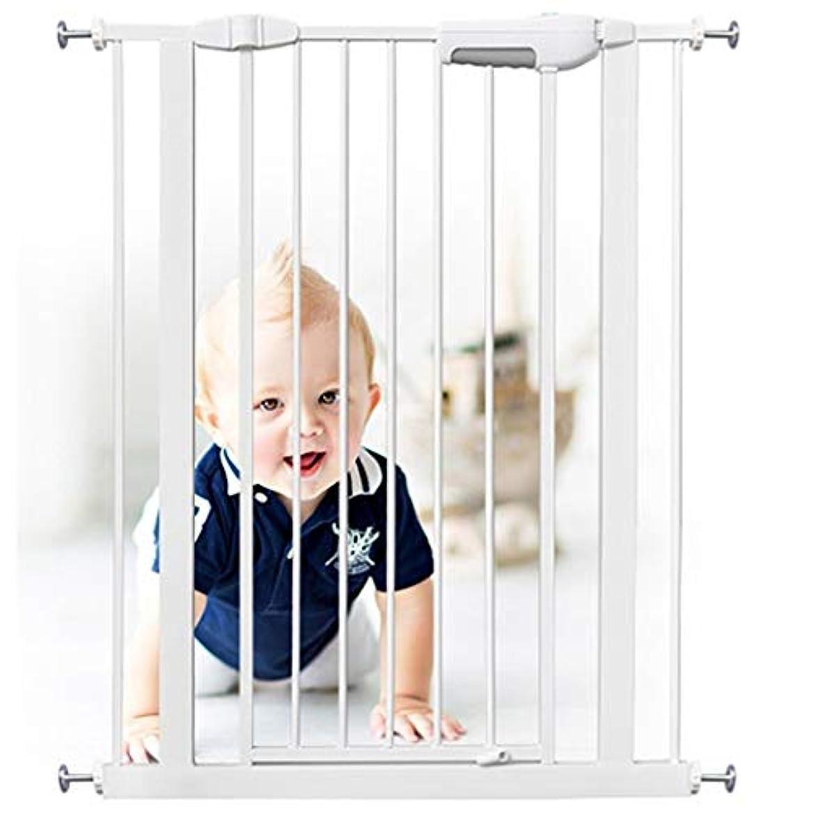 会計士マンハッタン破壊ベビーゲート エクストラワイド伸縮ペット赤ちゃんの安全ゲートプレイエリアのための圧力マウントフェンス暖炉ガード付き (Color : Height 76cm, Size : 135-143cm)