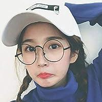 Chuiqingnet 人々の流入、ストリート野球帽、女性のヒップホップ、カジュアルベンド、韓国の日よけ、バイザー、パンク、ウィンドキャップ、男性 (Color : Label white, サイズ : M)