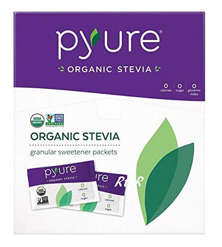オーガニック ステビアスイートナー 1g×120袋(120g) 有機甘味料 シュガーフリー Organic Stevia Sweetener