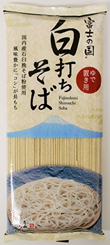 池島 富士の国白打ちそばゆで置き用 400g×5個