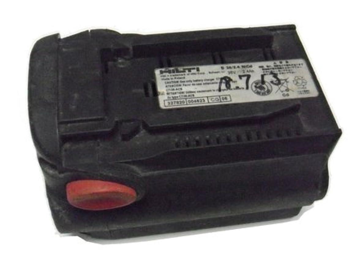 葉を集めると遊ぶ追い越すHilti 電動工具(B36 2.4)バッテリーパック 預りセル交換