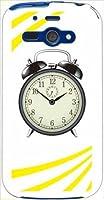 ohama WX04SH AQUOS PHONE es アクオスフォン ハードケース y058_f 時計 クロック 目覚まし時計 ベル スマホ ケース スマートフォン カバー カスタム ジャケット willcom