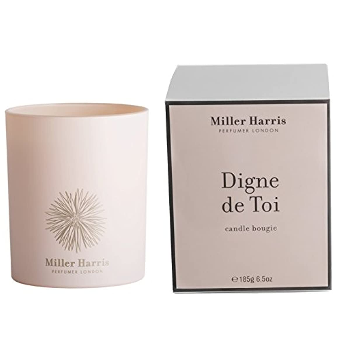 クリーク同化時間厳守ミラーハリス Candle - Digne De Toi 185g/6.5oz並行輸入品