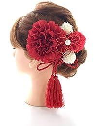 髪飾り6点セット【選べるカラーバリエーション】卒業式 和装 成人式 結婚式