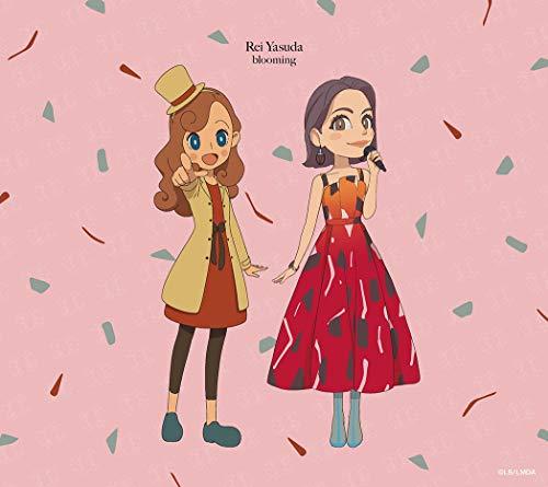 安田レイ【blooming】MVを徹底解説!ピンクなスモークがオシャレ♪アニメ版「レイトン」OP曲の画像