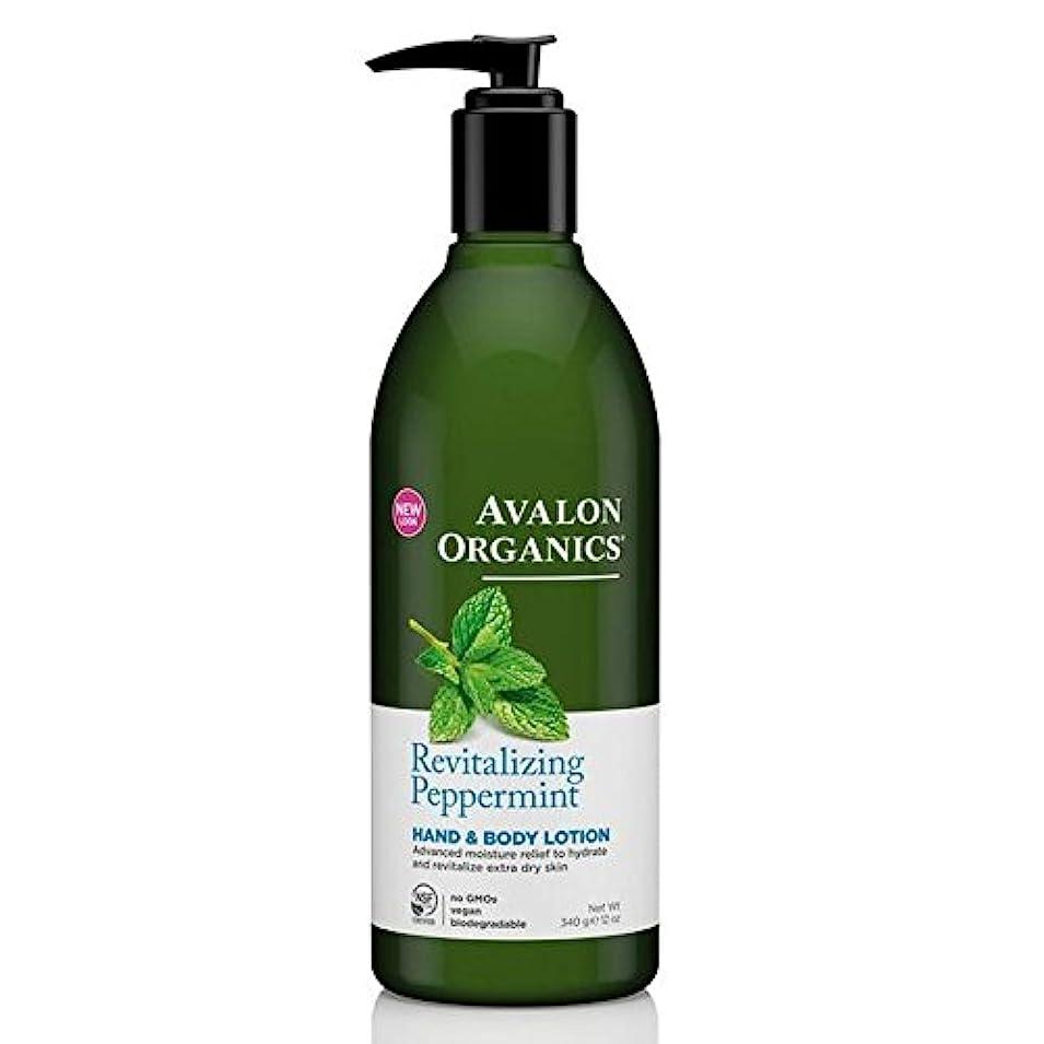 病気次へ支出Avalon Peppermint Hand & Body Lotion 340g (Pack of 4) - (Avalon) ペパーミントハンド&ボディローション340グラム (x4) [並行輸入品]