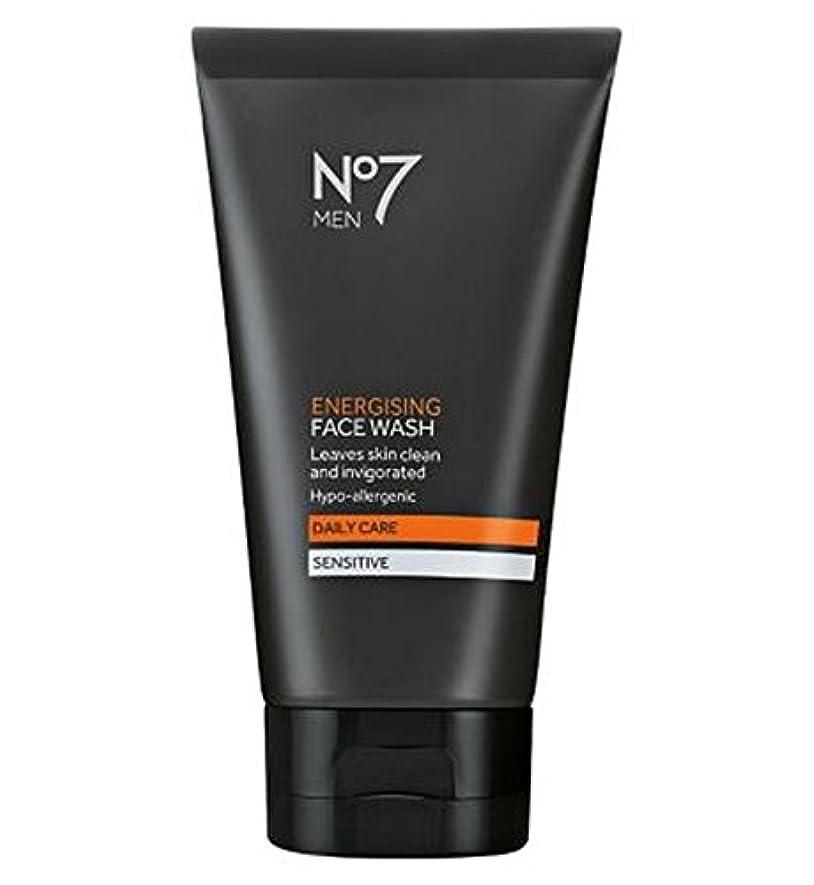 冒険ハウジングカードNo7 Men Energising Face Wash 150ml - 洗顔料の150ミリリットルを通電No7の男性 (No7) [並行輸入品]