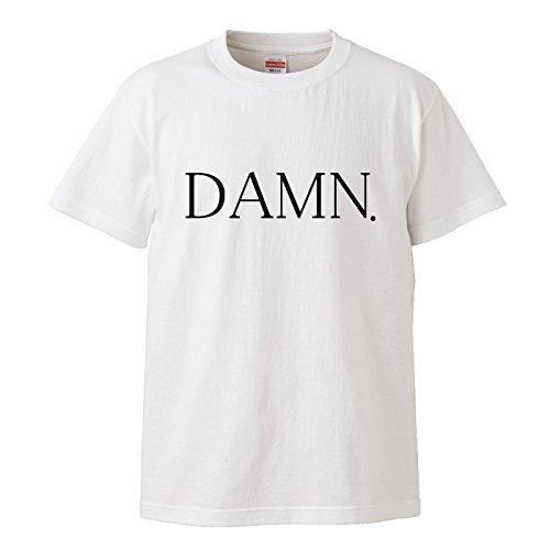 Tシャツ パロディ DAMN DAMM スラング 流行り トレンド 48 ウケ狙い おもしろい 面白い