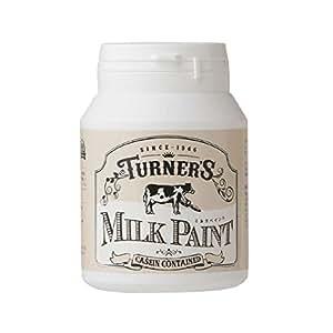 ターナー色彩 ミルクペイント スノーホワイト 200ml