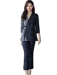 MIKOO パンツスーツ レディース セットアップ 大きいサイズ フォーマル 就活 スーツ オフィス スーツ結婚式 卒業式 入学式 OLスーツ ビジネス 通勤