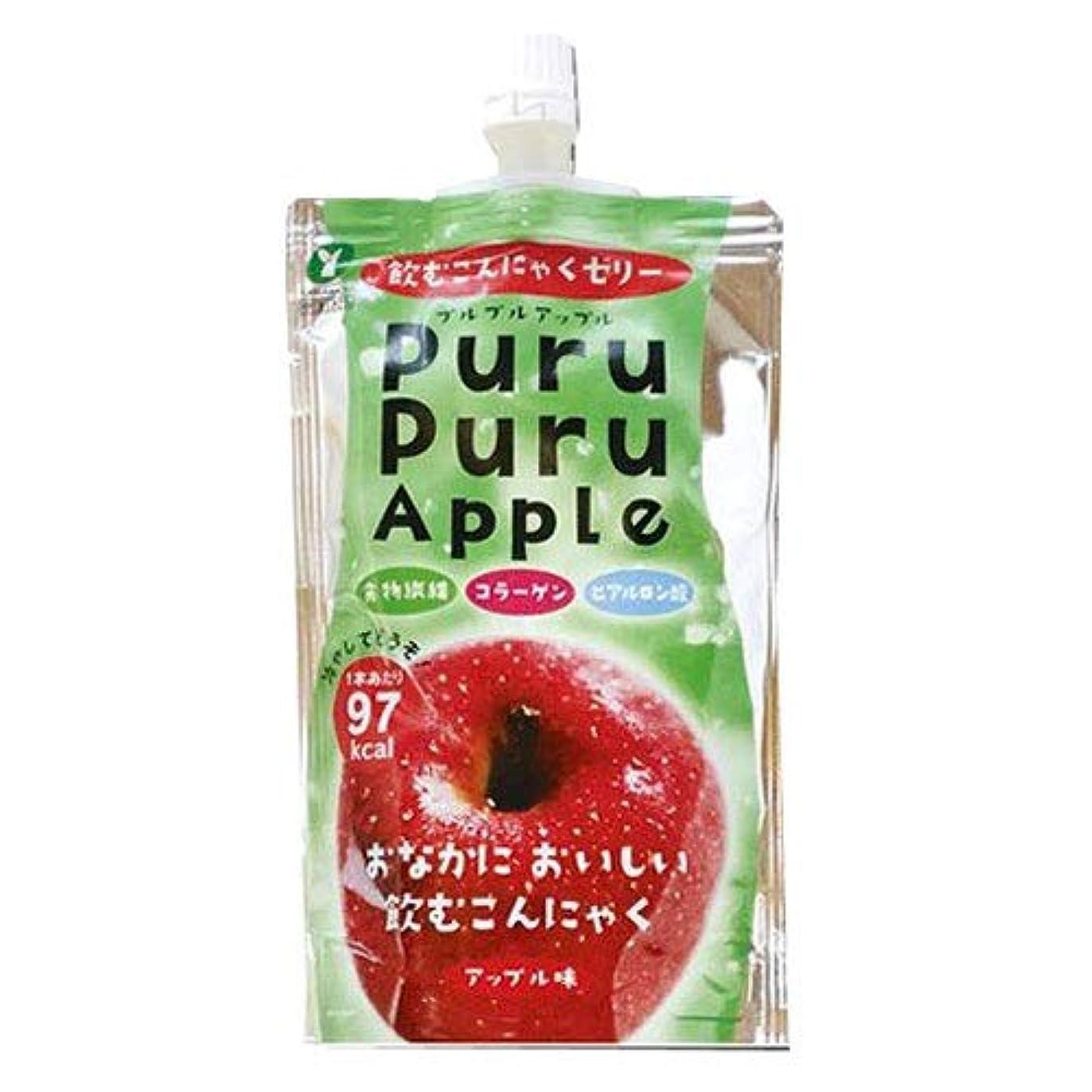 太平洋諸島貯水池消化器山吉青果食品 飲むこんにゃくゼリー アップル 【72個組】