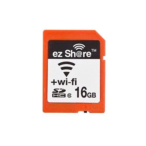 テック ezShare Wi-Fi機能を搭載したSDカード 16GB【ezShare-16GB10】 [PC]