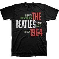 BEATLES ビートルズ - USAツアーTシャツ 64 HOLLYWOOD BOWL / Tシャツ / メンズ 【公式 / オフィシャル】