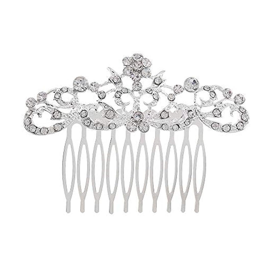 枯渇するたくさんのシード髪の櫛の櫛の櫛の花嫁の髪の櫛のファッションラインストーンの櫛の櫛の花嫁の頭飾りの結婚式のアクセサリー