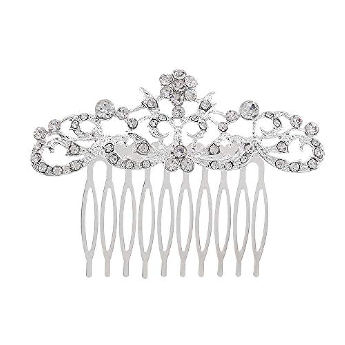 アサート補足甲虫髪の櫛の櫛の櫛の花嫁の髪の櫛のファッションラインストーンの櫛の櫛の花嫁の頭飾りの結婚式のアクセサリー