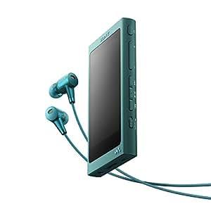 ソニー SONY ウォークマン Aシリーズ NW-A37HN : 64GB ハイレゾ/Bluetooth/microSD対応 ノイズキャンセリング機能搭載 ハイレゾ対応イヤホン付属 ビリジアンブルー NW-A37HN L