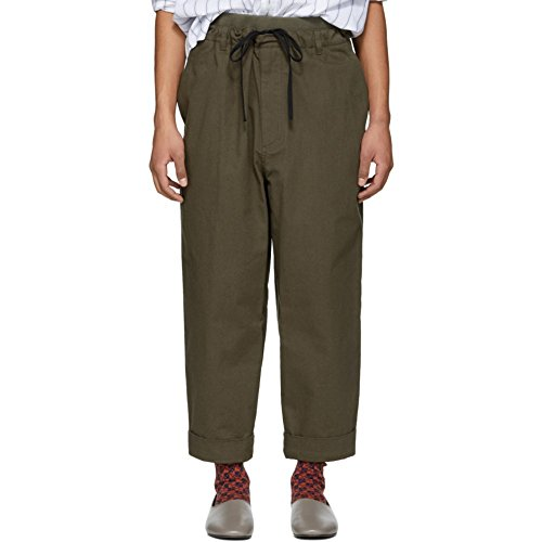 (スリーワン フィリップ リム) 3.1 Phillip Lim メンズ ボトムス・パンツ Brown Pull-On Rib Relaxed Trousers [並行輸入品]
