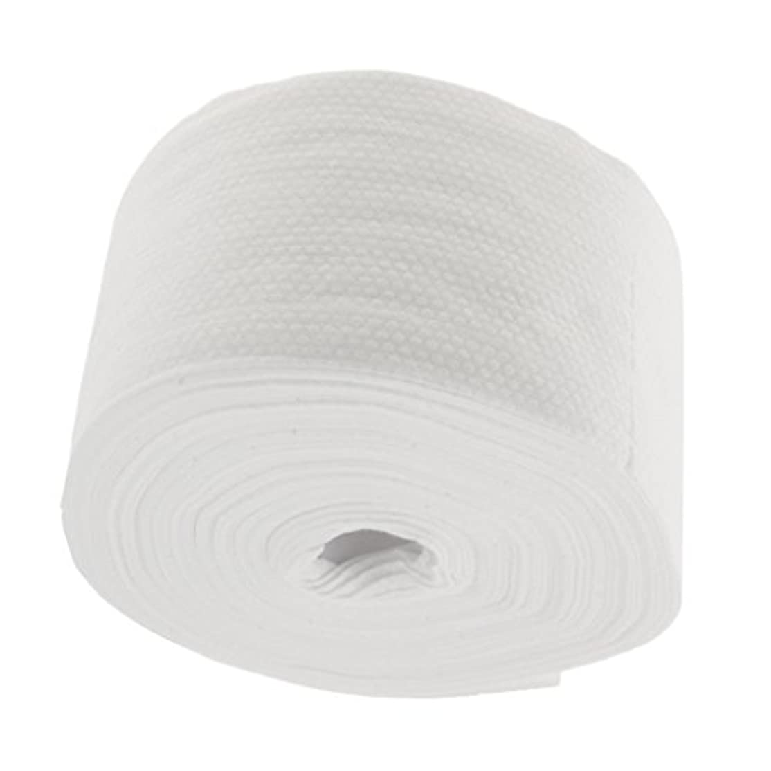 ハムテレビを見る白いロール式 使い捨て 洗顔タオル 使い捨てタオル 30M コットン 繊維 メイクリムーバー 快適 - #2