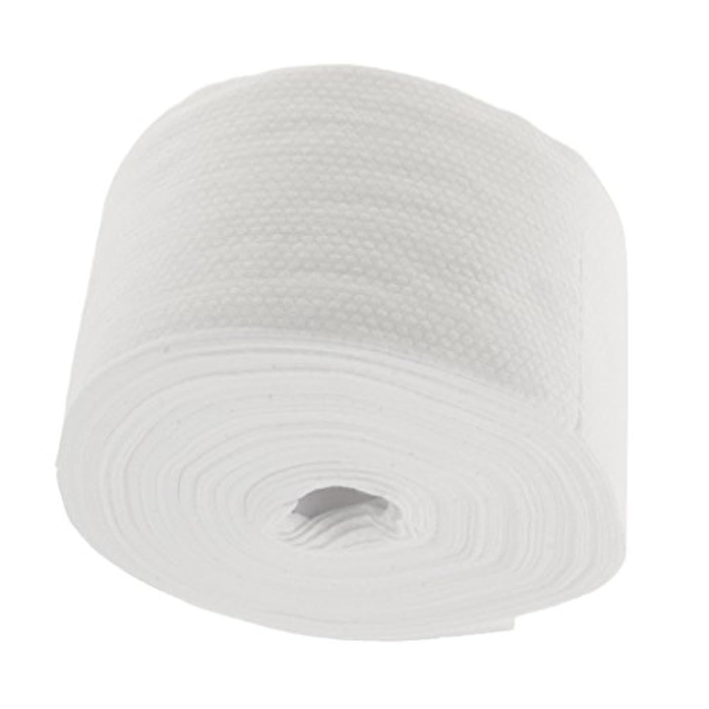 バランスのとれた洗剤少ないSharplace ロール式 使い捨て 洗顔タオル 使い捨てタオル 30M コットン 繊維 メイクリムーバー 快適 - #2