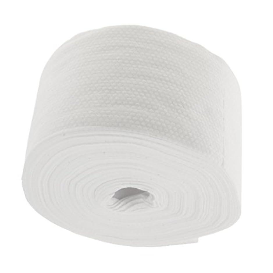 不一致出口暖かさFenteer 使い捨てタオル ロール式 洗顔タオル 30M コットン メイクリムーバー 2タイプ選べる - #2