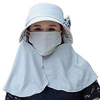 日よけ帽子 つば広帽子 UVカット つば広 日除け帽子 吸湿速乾 熱中症対策 釣り 登山 アウトドア 作業用