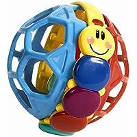 FONGFONG 明るい色 アインシュタイン ベンディボール ハンドグリップ しなやかなボール ハンドベル ラトル 教育玩具 幼児 赤ちゃん 子供用