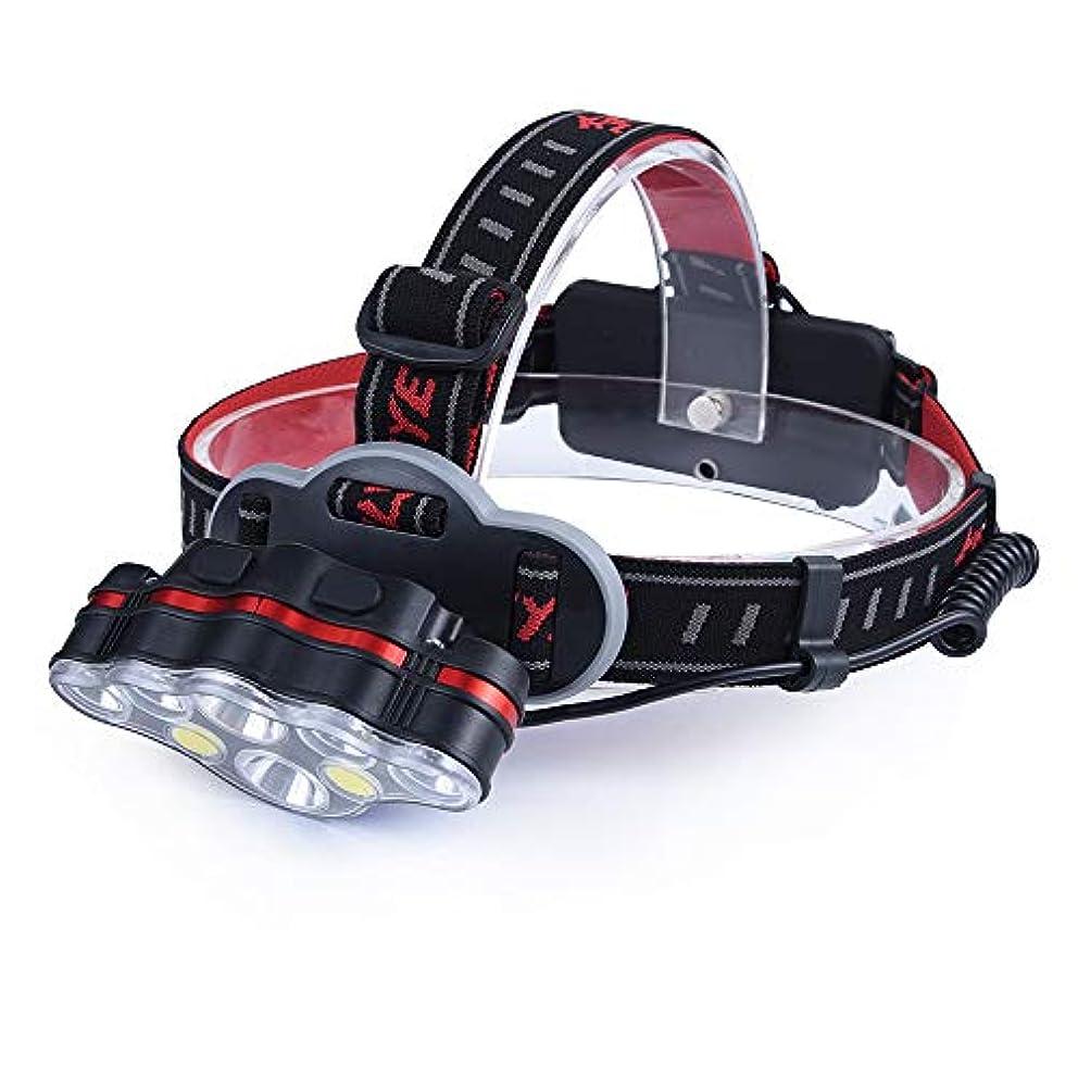 不健全交通渋滞鎮痛剤発信スタイルの楽しみ充電式ヘッドライトトーチT6ヘッドランプヘッドライトランプUSB 18650