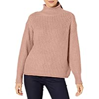 Vince Camuto Women's Texture Stitch Mock Neck Sweater