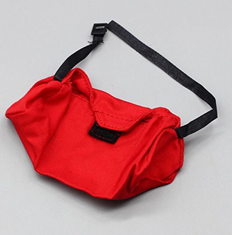 HuaQingPiJu-JP 人形ボーイフレンドオフロードクライミングスポーツスクールバッグ(レッド)