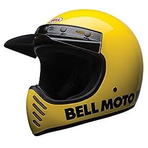 BELL ベル 2017年 Moto-3 モト3 ヘルメット Classic クラシック イエロー/L [並行輸入品]