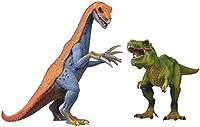 Schleich 77083 US Therizinosaurus and T-Rex Set Toy Figure