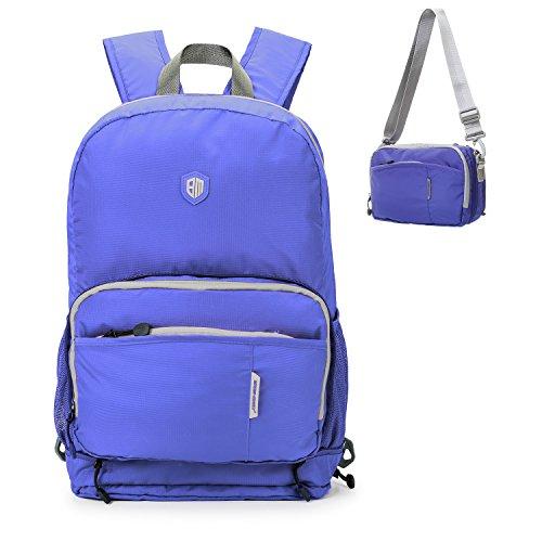 (バッグスマート)BAGSMART 軽量&折りたたみ式 リュックサック ナイロン リュック 旅行 デイパック 撥水加工 20L 4色選択