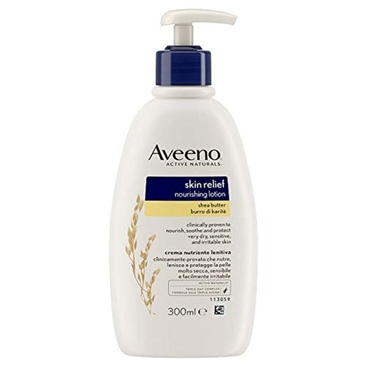 オーチャード発見火炎[Aveeno] Aveenoスキンリリーフローション300ミリリットル - Aveeno Skin Relief Lotion 300ml [並行輸入品]
