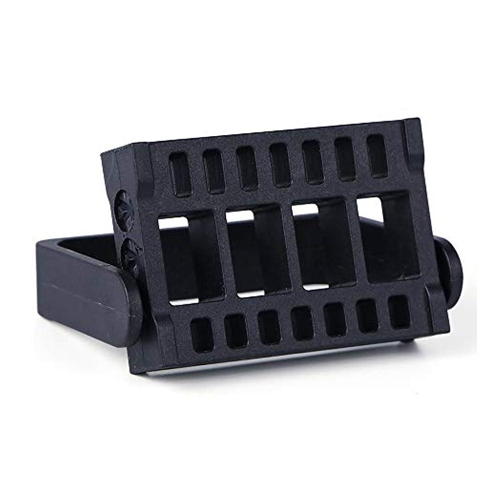 1本16穴ネイルドリルビットホルダー展示スタンドディスプレイボックス電気ネイルファイルコンテナマニキュアツール